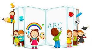 Bimbi della scuola dell'infanzia